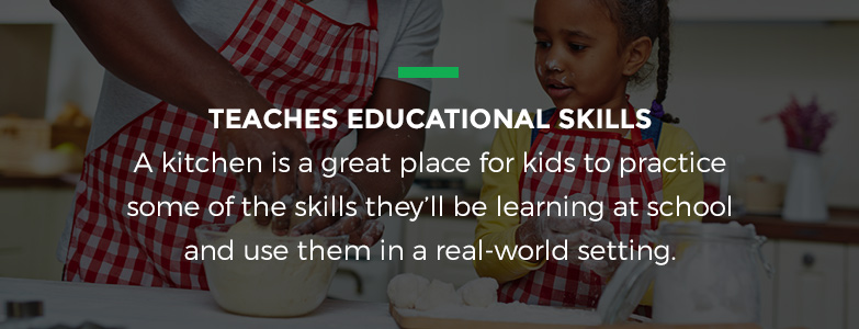 cooking teaches educational skills