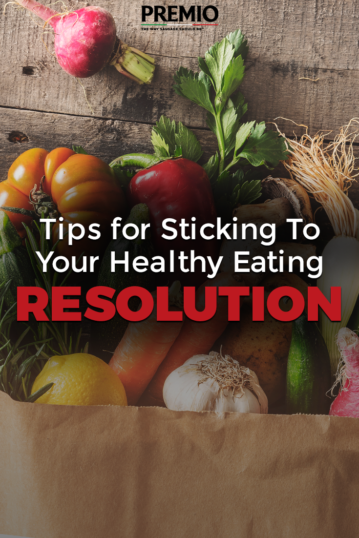 tips for sticking to your healthy eating resolution