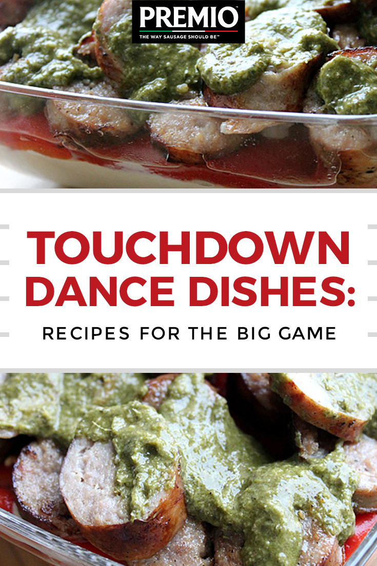 Touchdown Dance Dishes: Recipes for the big game