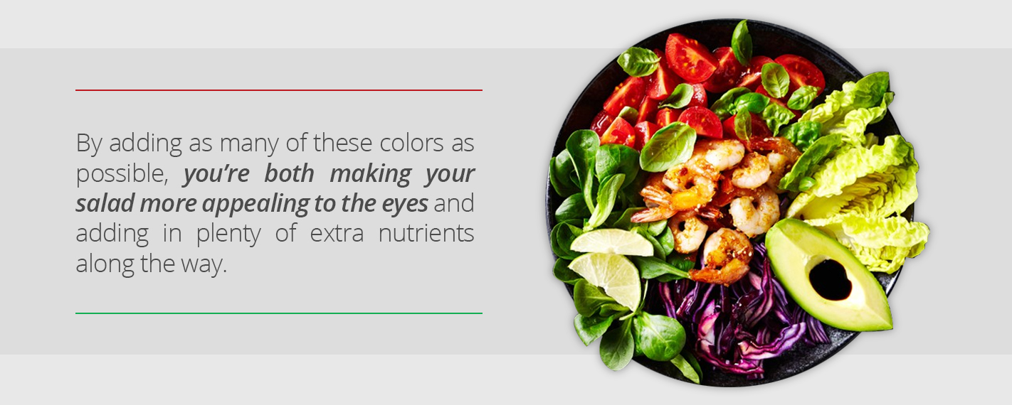Add color to your salad