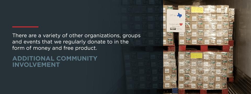 Additional Community Involvement