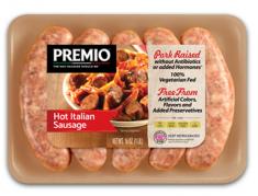 Premio Hot Italian Antibiotic Free Sausage