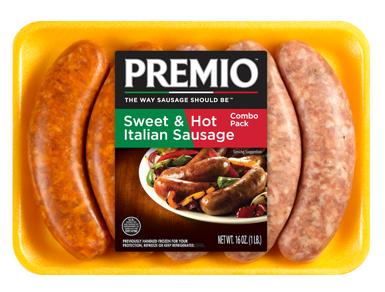 Premio - Sweet & Hot Italian Sausage (Combo Pack)