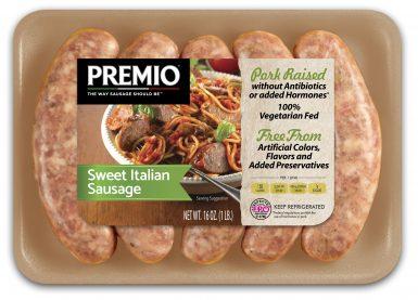 Premio Sweet Italian Antibiotic Free Sausage