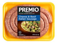 Premio Italian Sausage with Cheese & Basil