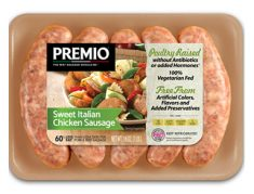 Premio Antibiotic Free Sweet Italian Chicken Sausage
