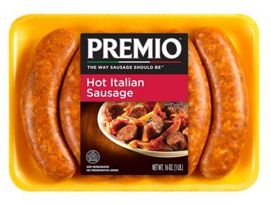 Premio Hot Italian Sausage