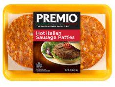 Premio hot italian sausage patties
