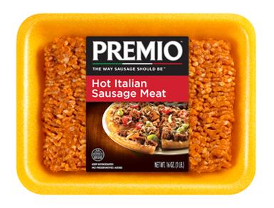 Premio Hot Italian Sausage Meat