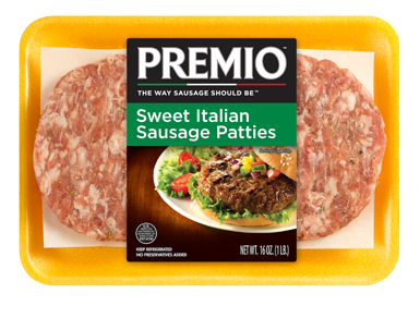 Premio Sweet Italian Sausage Patties