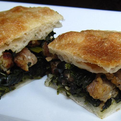 Spinach Sausage Pie