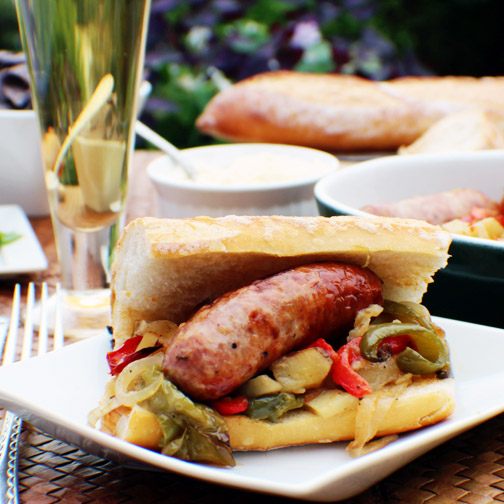 Sausage, Peppers and Potatoes