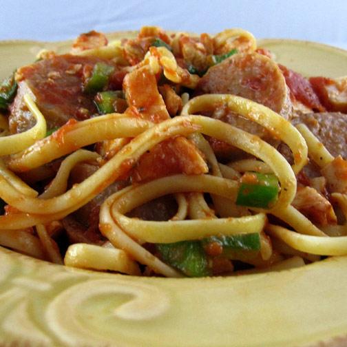 Sausage Linguini Italiano