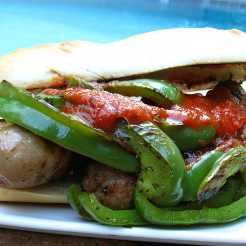 Sausage and Pepper Sammies