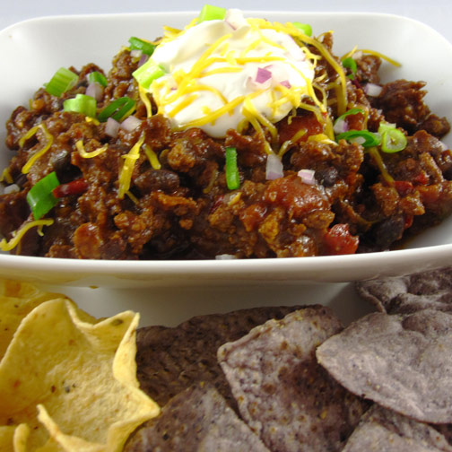 Chipotle Chorizo Chili
