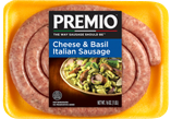 Premio Cheese and Basil Italian Sausage
