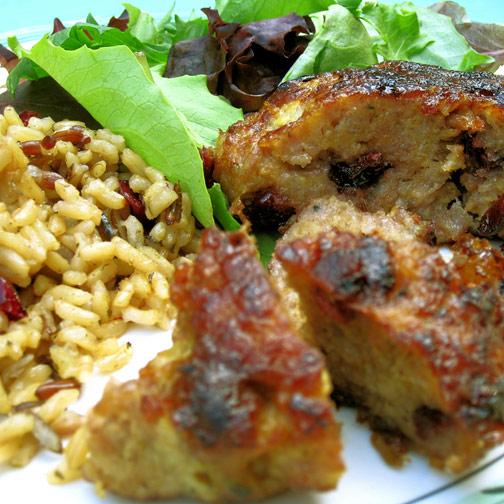 Sicilian sausage patty