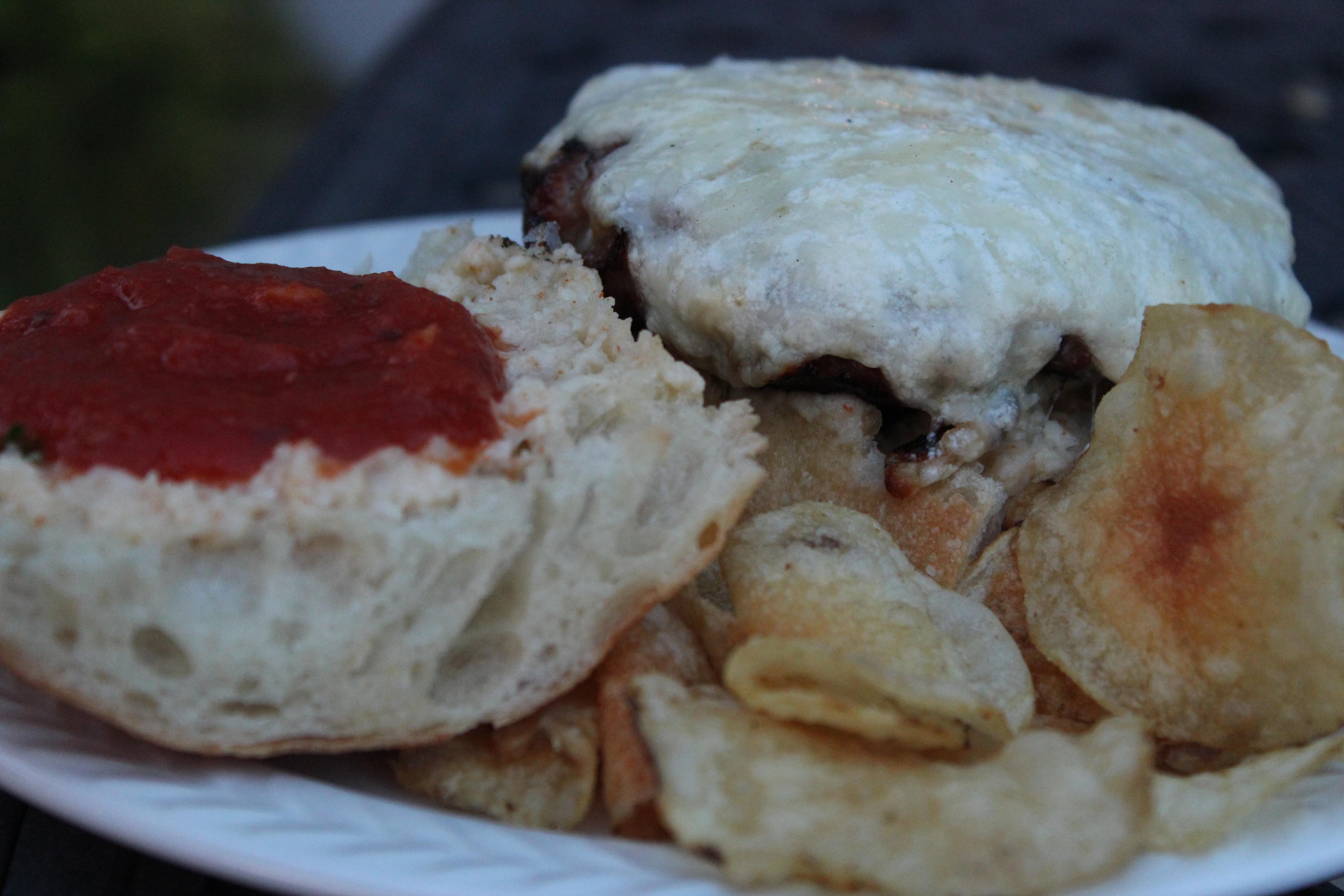 lasagna burgers