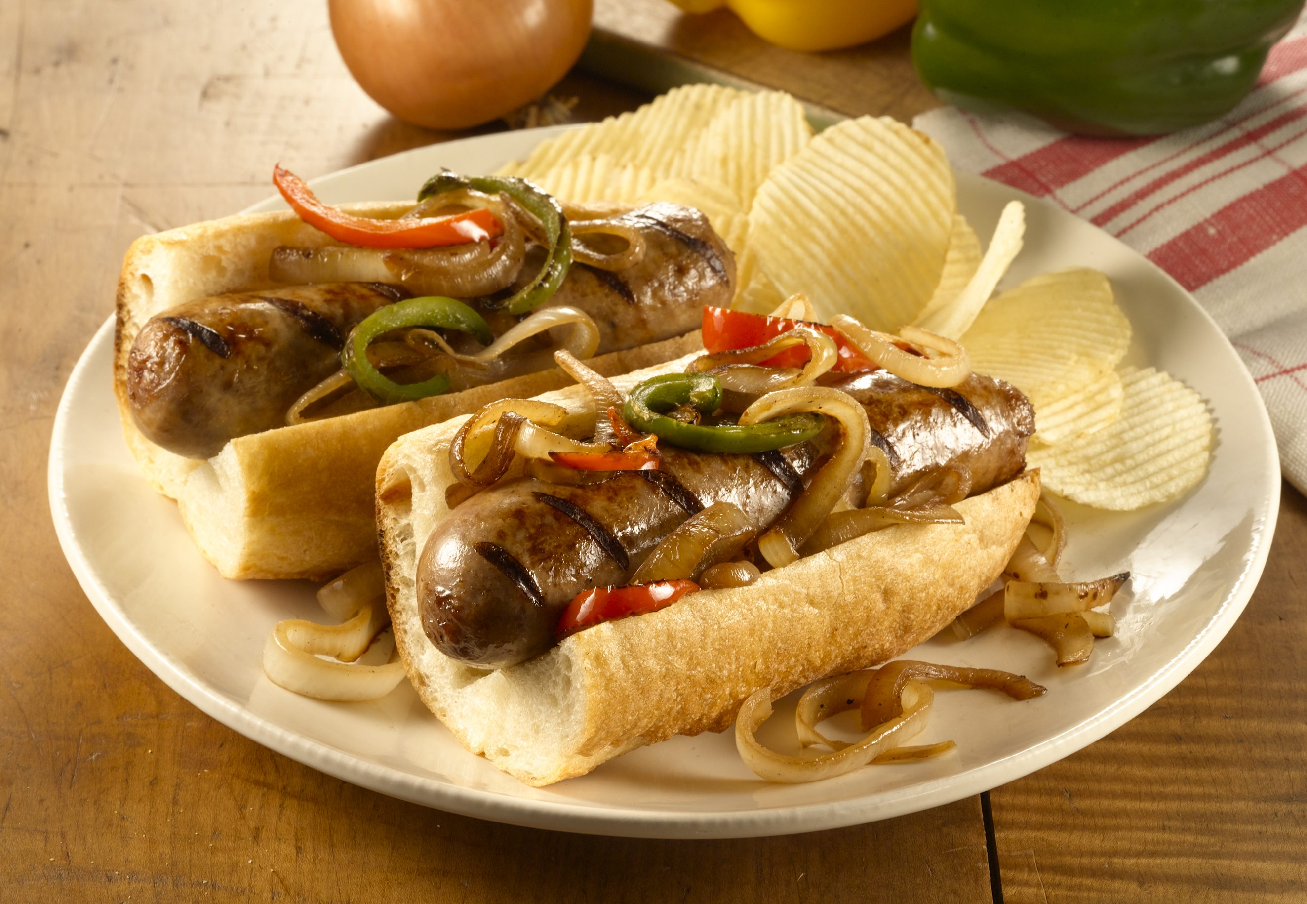 Hot & Sweet Italian Sausage Grillers