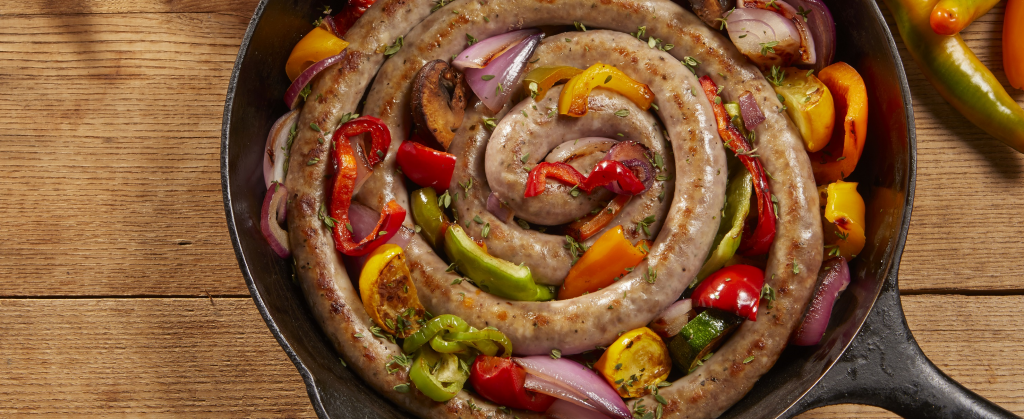 Sausage and Veggies