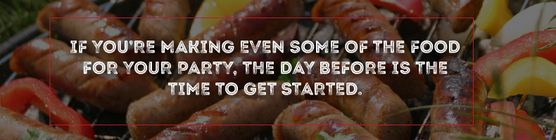 Start Preparing Super Bowl Party Food the Day Before