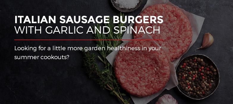 Italian Sausage Garlic Spinach