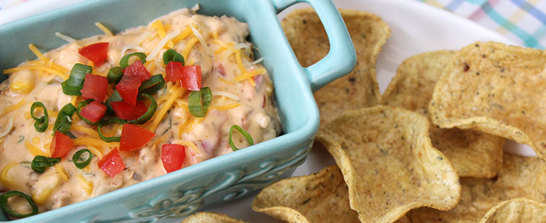 Sausage Dip and Chips