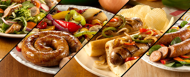 meals with sausage