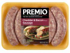 Premio Cheddar Bacon Sausage