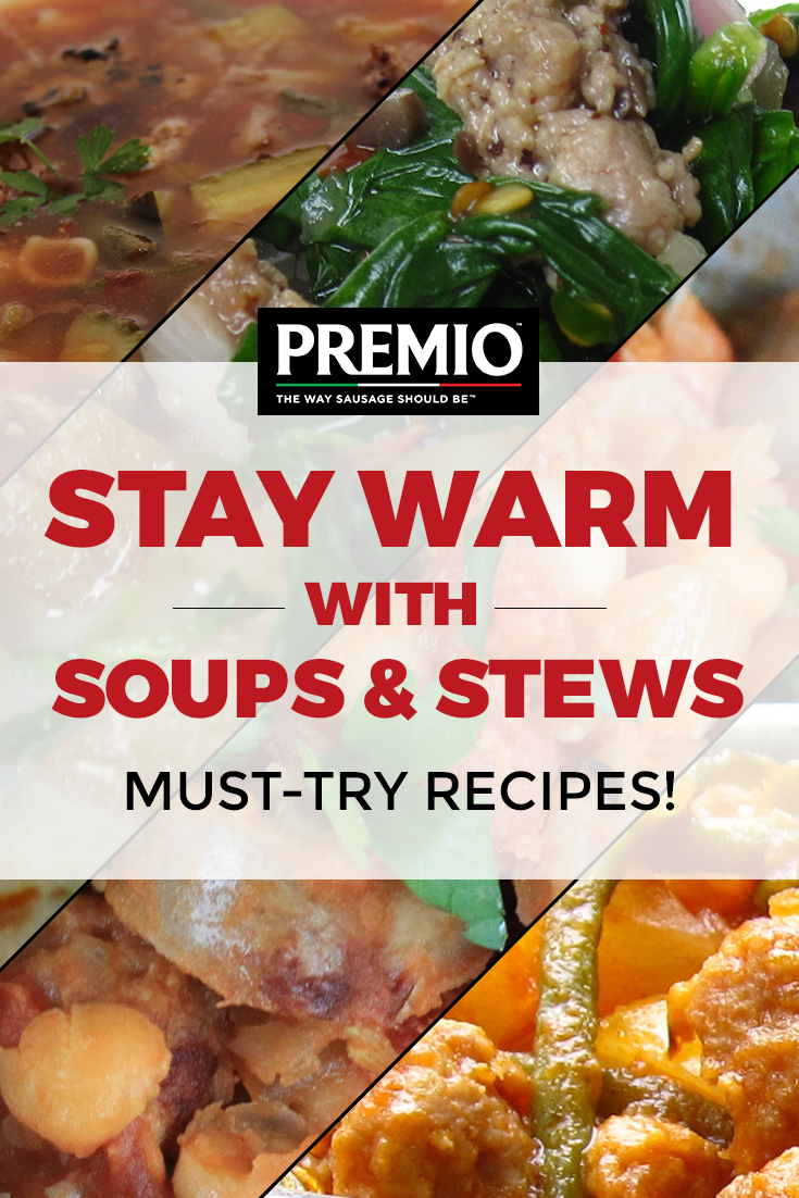 Stay Warm with Soups & Stews