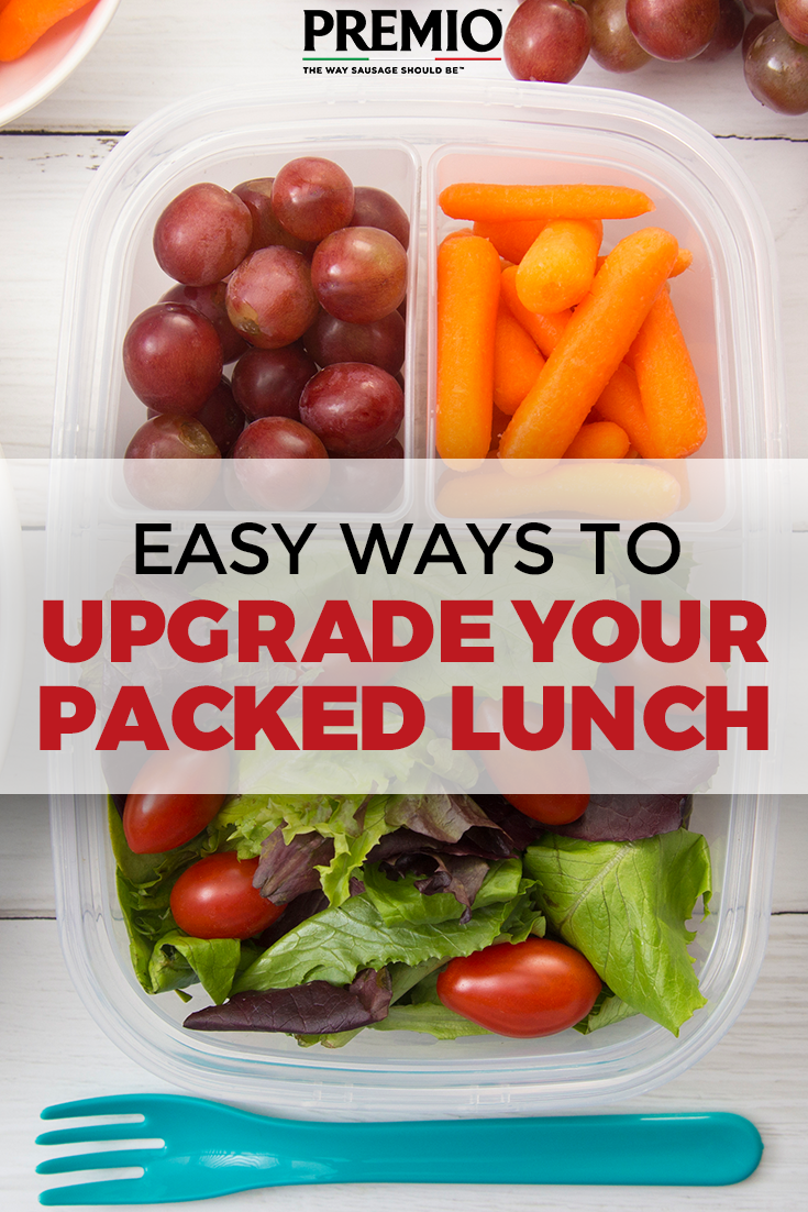 Easy Ways to Upgrade Your Packed Lunch