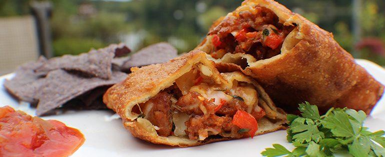 premio chorizo and cheese empanadas