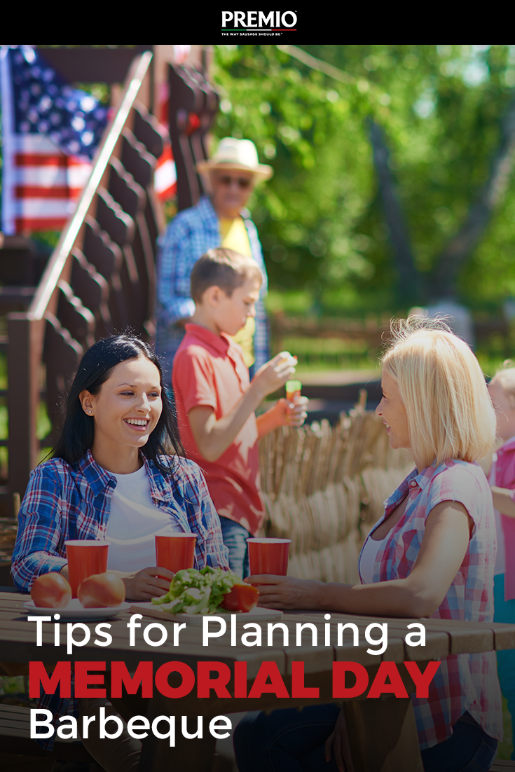 Tips for Planning a Memorial Day BBQ