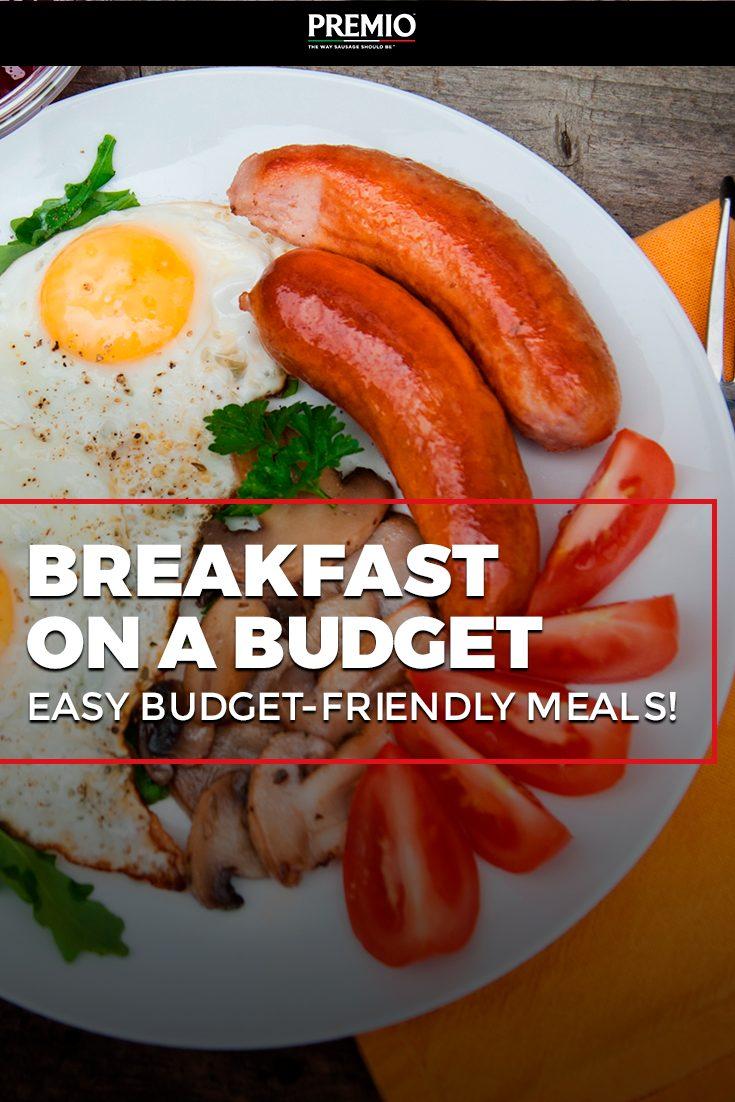 Breakfast on a Budget