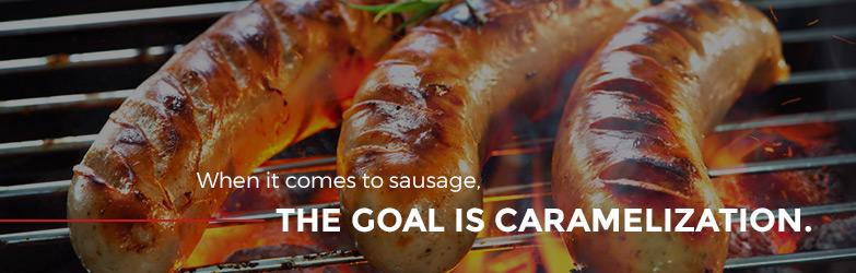 Sausage Caramelization