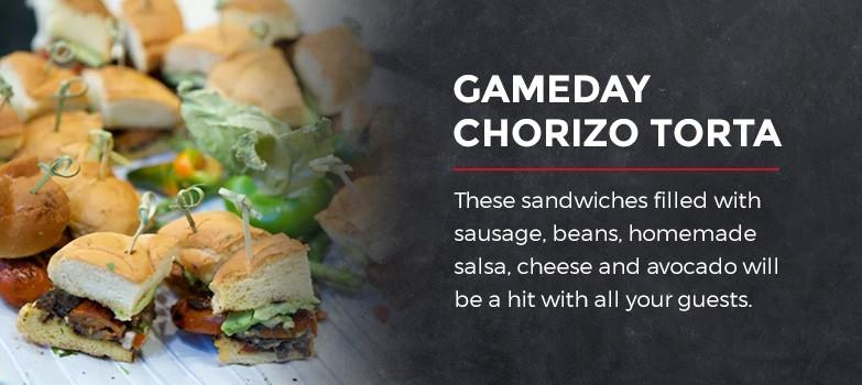 Gameday Chorizo Torta
