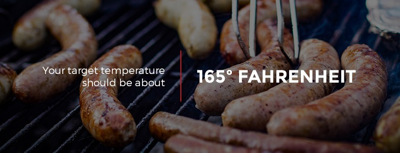 Target Temperature of Sausages