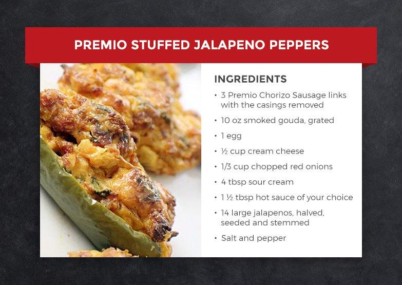 Premio Stuffed Jalapeno Peppers