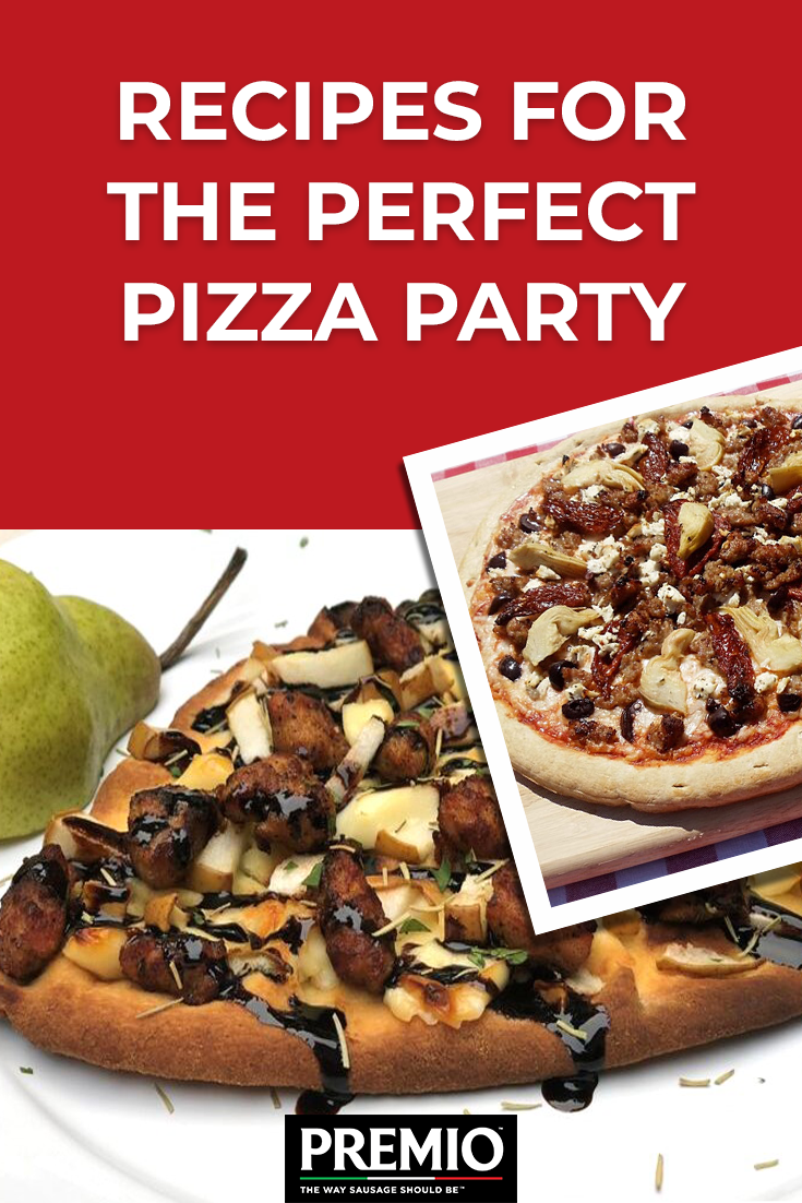 Recipes for the Perfect Pizza Party