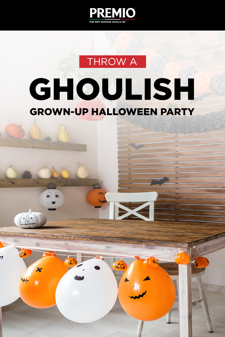 Throw a Ghoulish Grown-Up Halloween Party