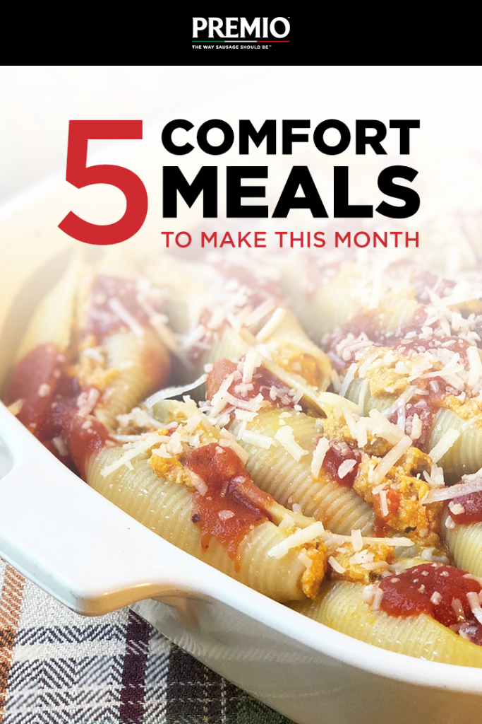 5 Comfort Meals to Make This Month