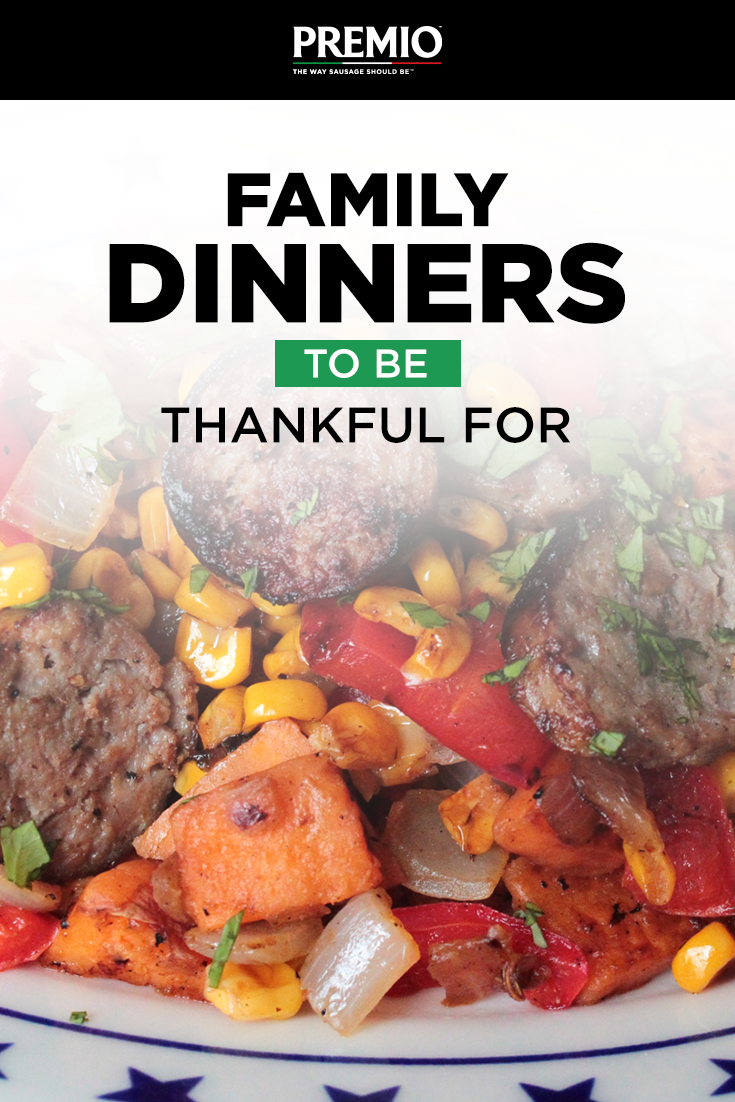Family Dinners to be Thankful For