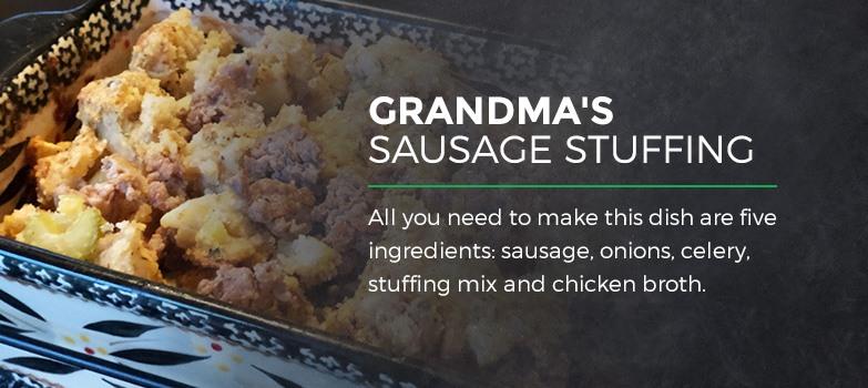 Grandma's Sausage Stuffing