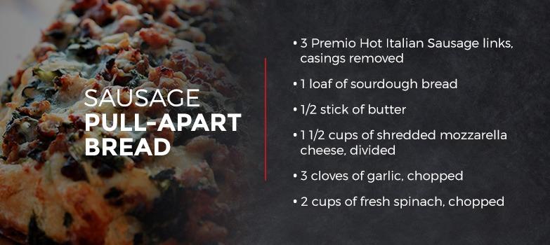 Sausage Pull-Apart Bread