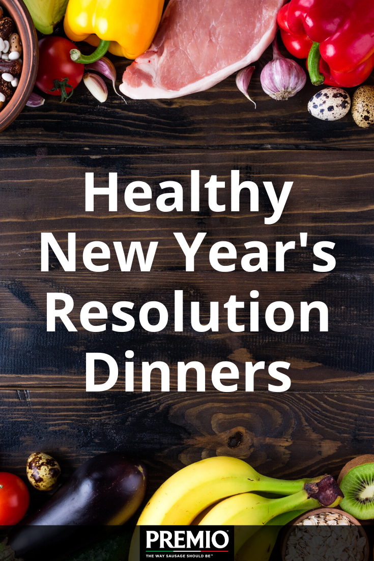 Healthy New Year's Resolution Dinners