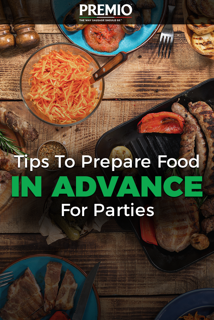tips to prepare food in advance