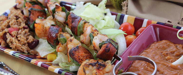 Grilled Skewers for Summer