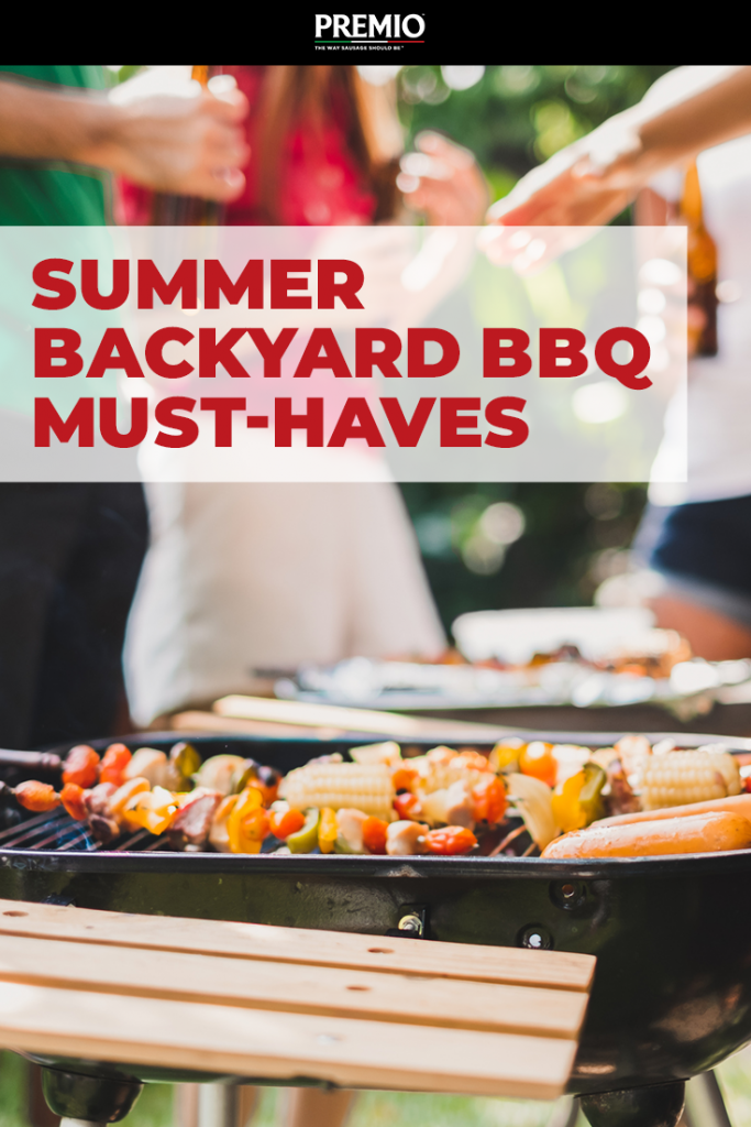 Summer Backyard BBQ Must-Haves
