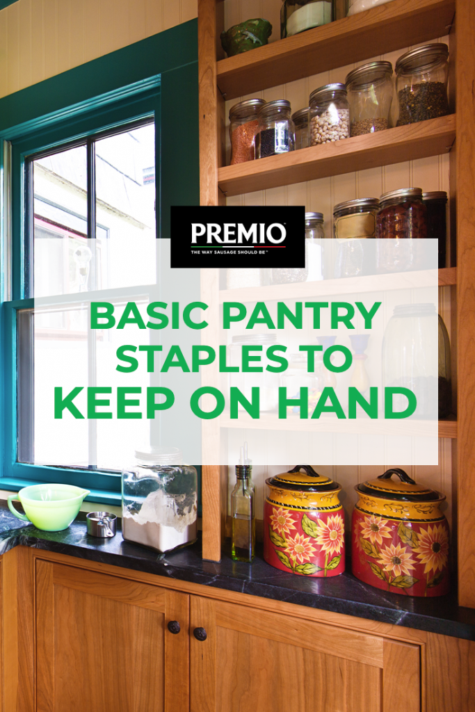 Basic Pantry Staples to Keep on Hand