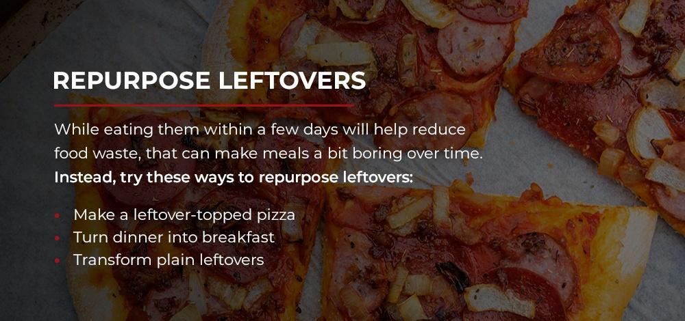 Repurpose Leftovers